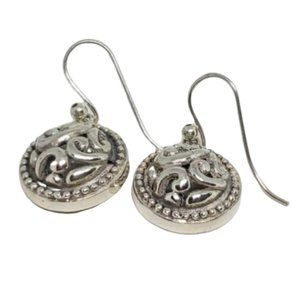 Vintage 925 Stamped Sterling Silver Small Earrings